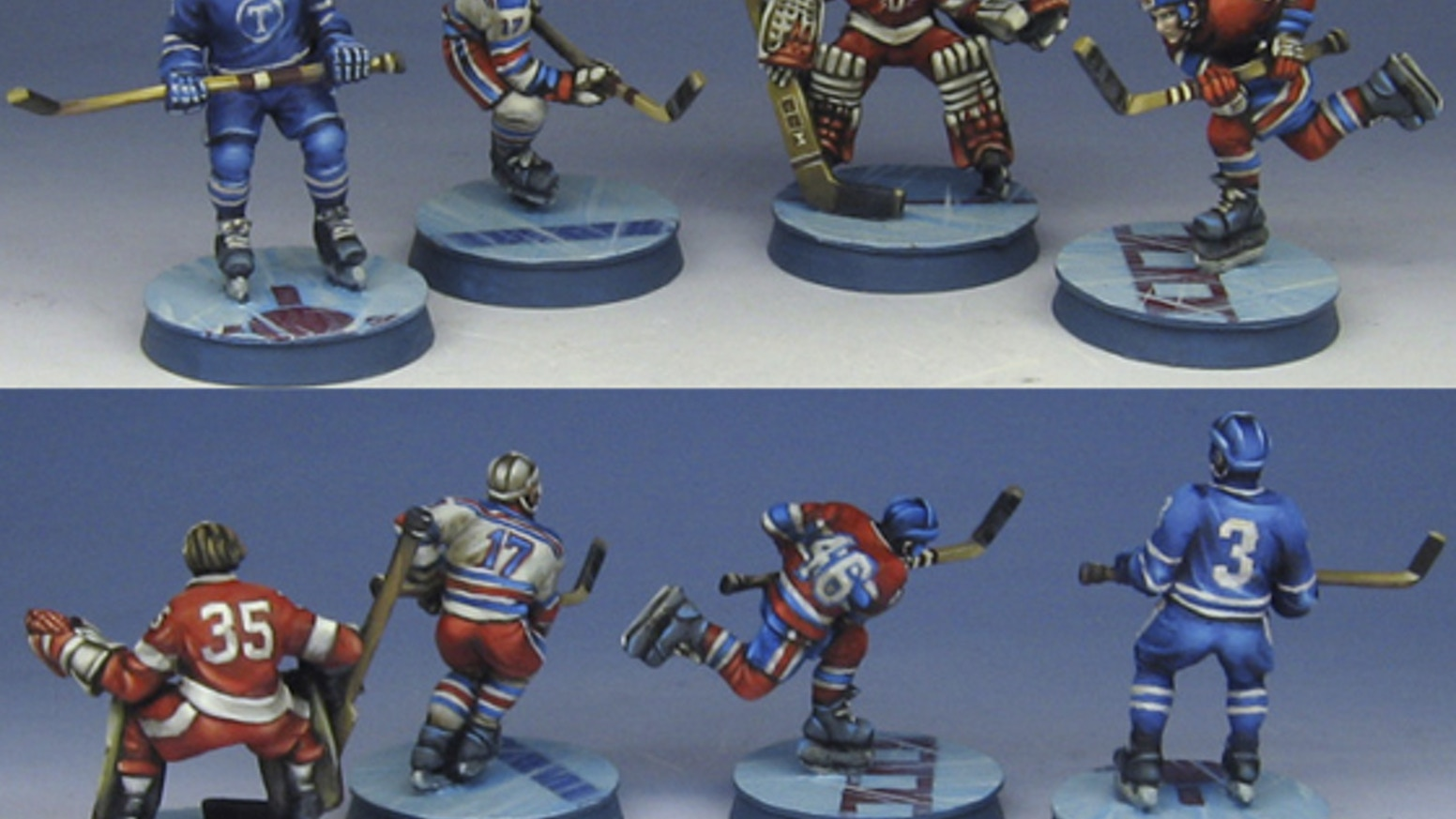 Click to see these fun sculpts and help us turn them into pewter miniatures.