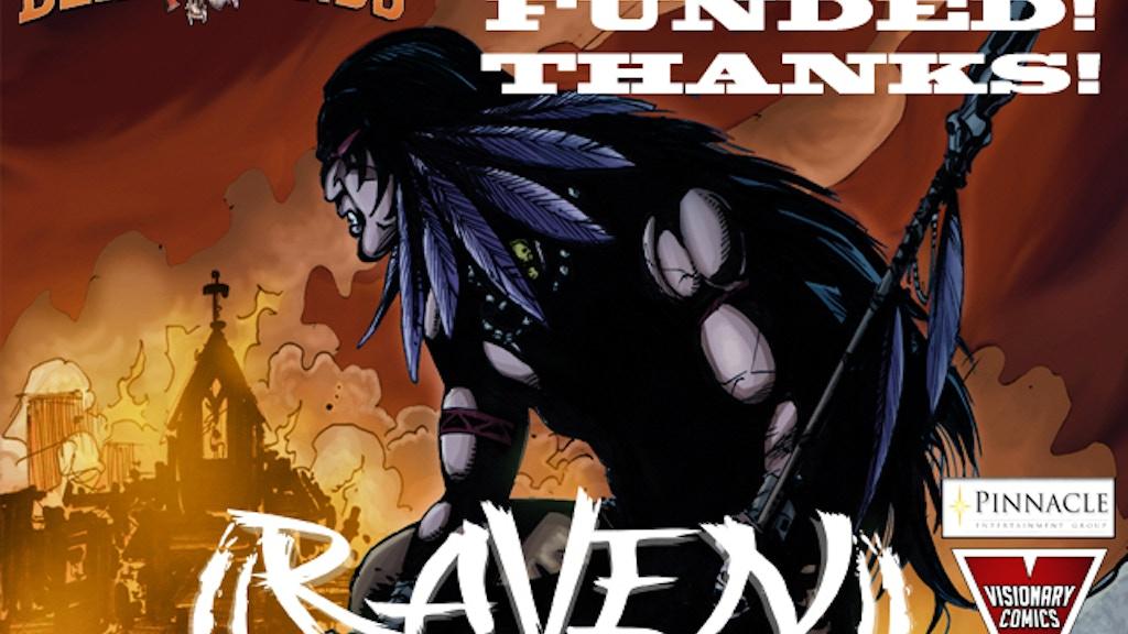 Deadlands: Raven Graphic Novel project video thumbnail