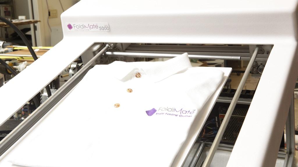 Project image for FoldiMate: The Robotic Laundry Folding Machine