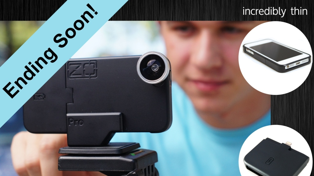 ZOpro:  Incredibly Thin Case-Integrated Charging.  iPhone 5 project video thumbnail