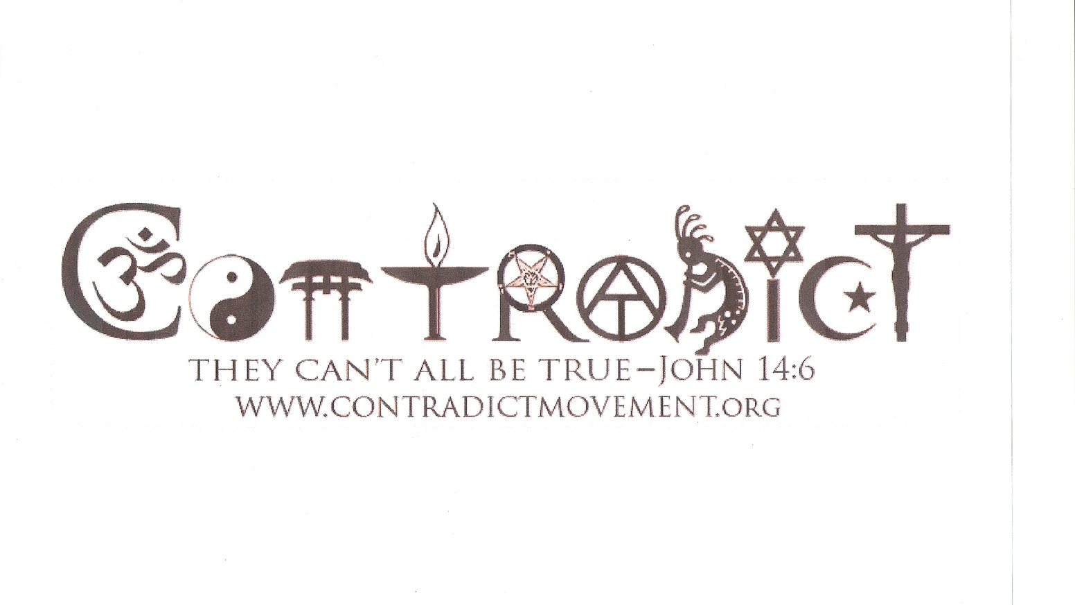 Contradict Sharing Religious Contradictions To Find Truth By Andy