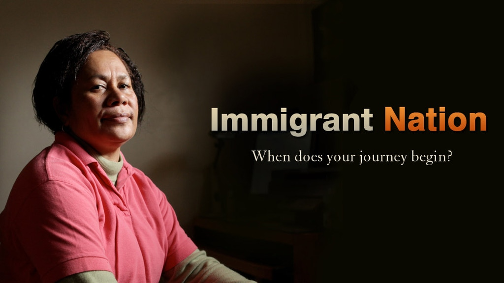 Immigrant Nation project video thumbnail