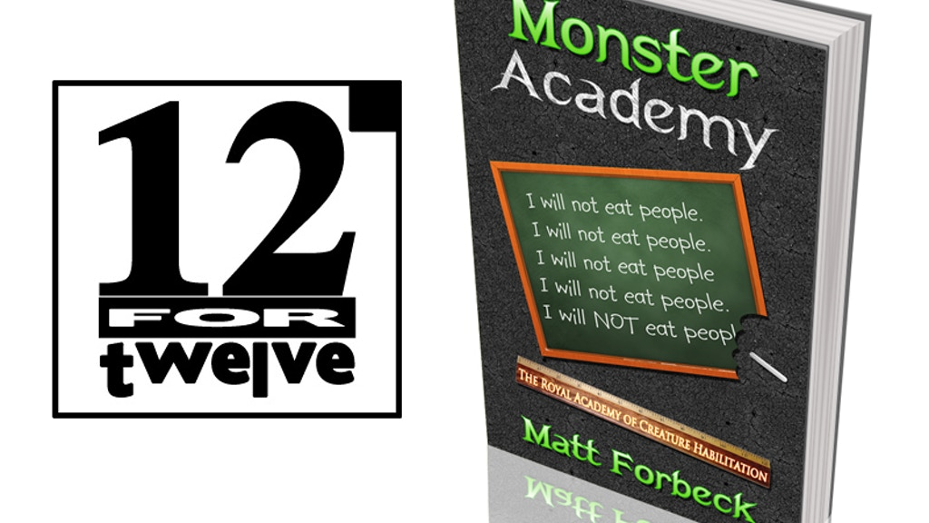 12 for '12 (4.0): Monster Academy Novels project video thumbnail