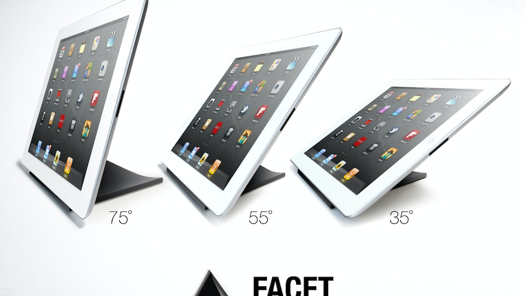 FACET pyramid iPad stand project video thumbnail