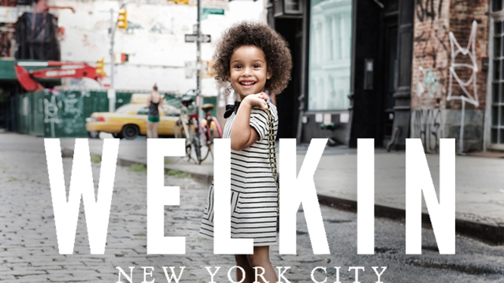 WELKIN NYC : Children's clothing by the city, for the city. project video thumbnail