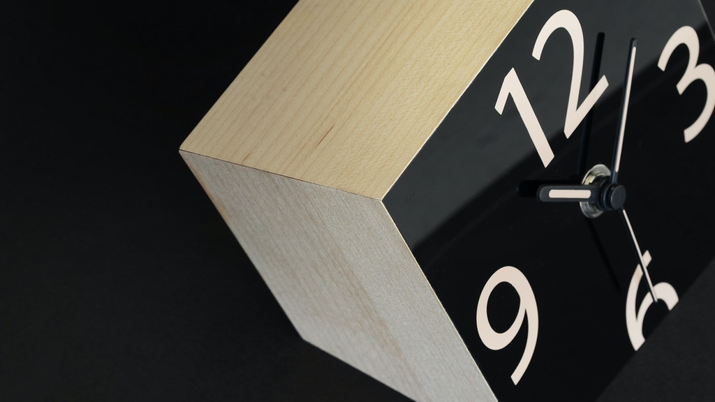 THE GRAVITY CLOCK:  A modern take on the analog clock project video thumbnail