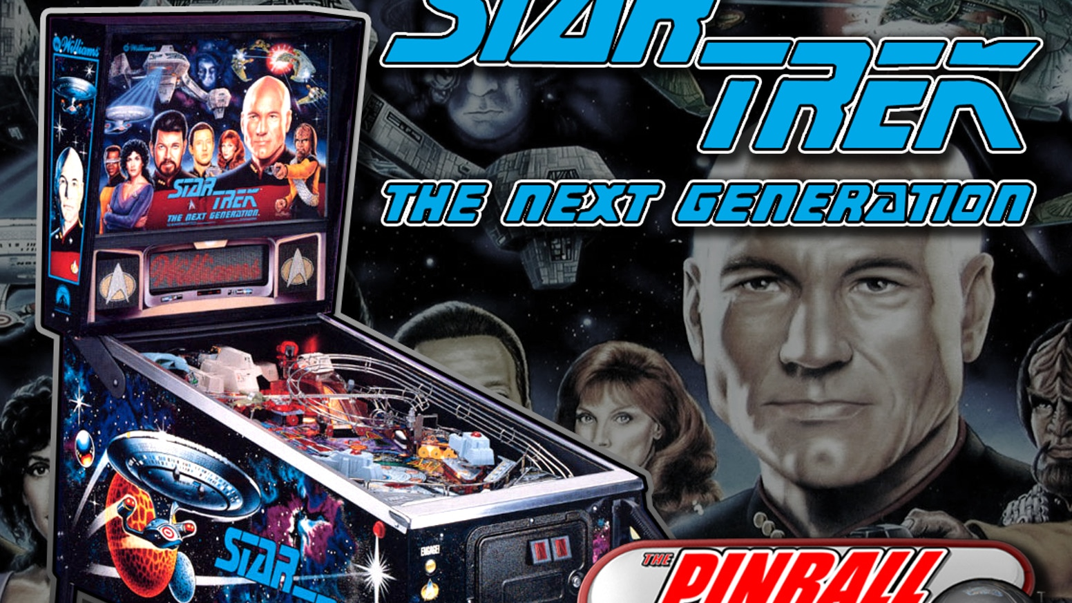 Help us bring the Star Trek: The Next Generation pinball table to game consoles and mobile devices for a whole new generation to enjoy!