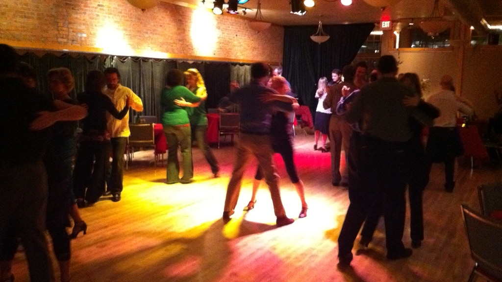 Live music for the September Tango Night at the Brick Room project video thumbnail