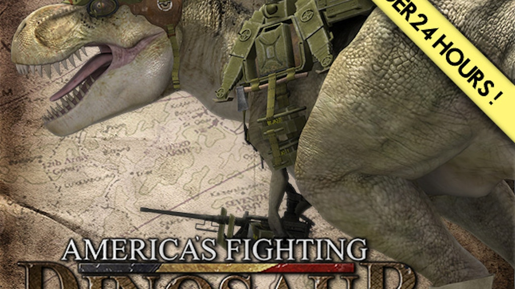 America's Fighting Dinosaur project video thumbnail