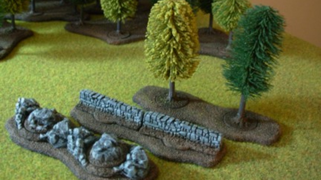 Wargame, Roleplaying and Model Railroad Terrain project video thumbnail