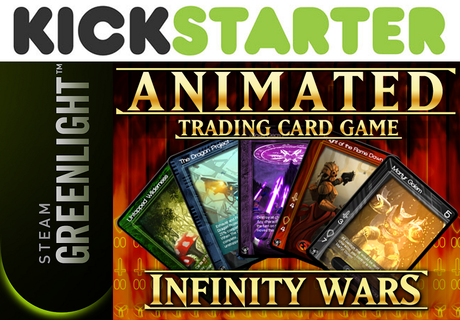 infinity wars animated trading card game by lightmare. Black Bedroom Furniture Sets. Home Design Ideas