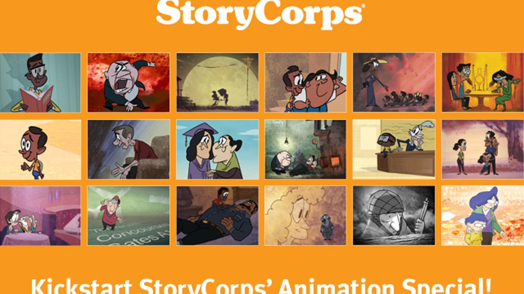 StoryCorps' Animation Special project video thumbnail