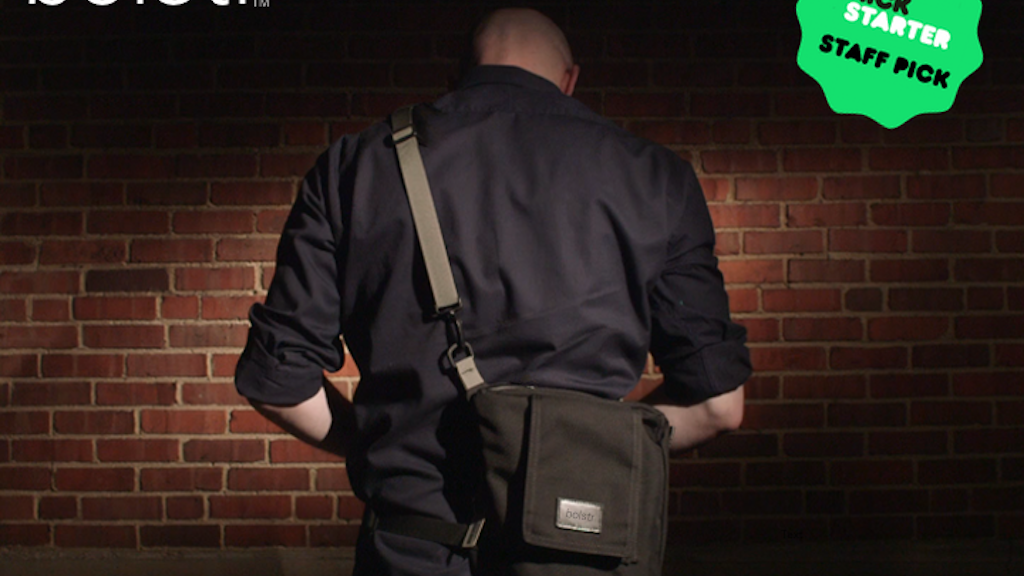 bolstr - The Ultimate EDC Bag. Minimal and Perfectly Sized. project video thumbnail