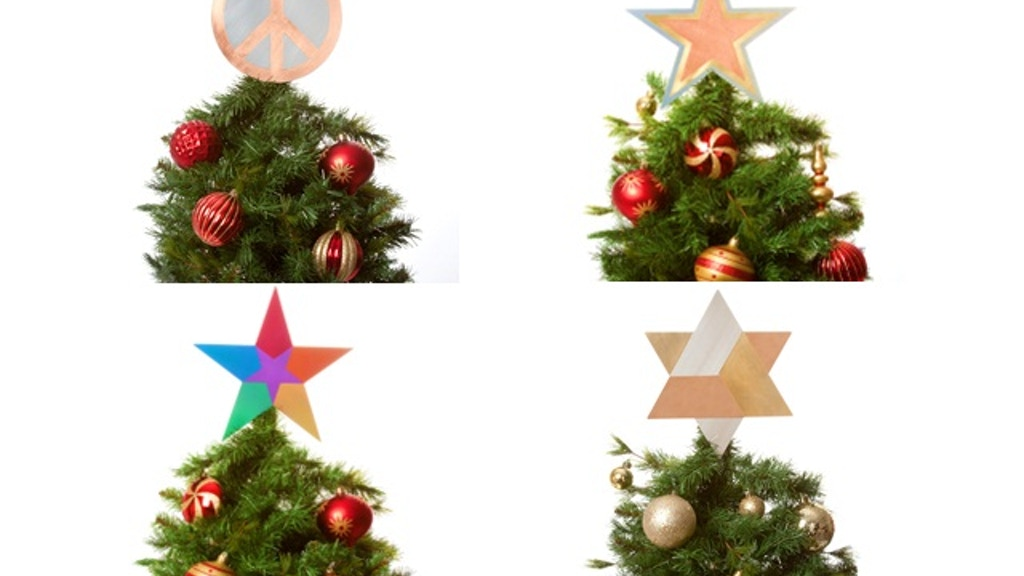 Diversity Christmas Tree Toppers: Celebrate In Style! By