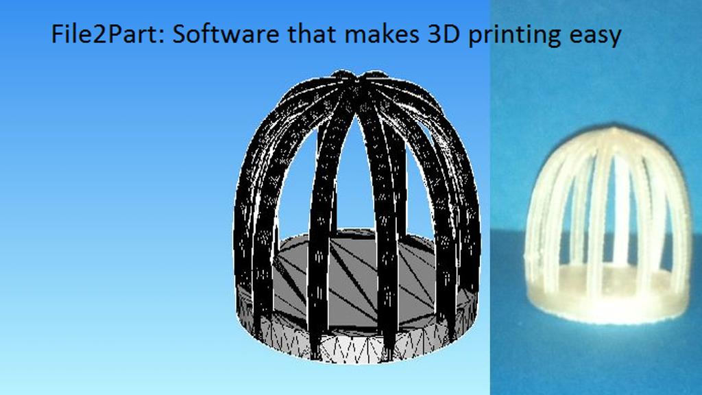 File2Part: Software that makes 3D printing easy project video thumbnail