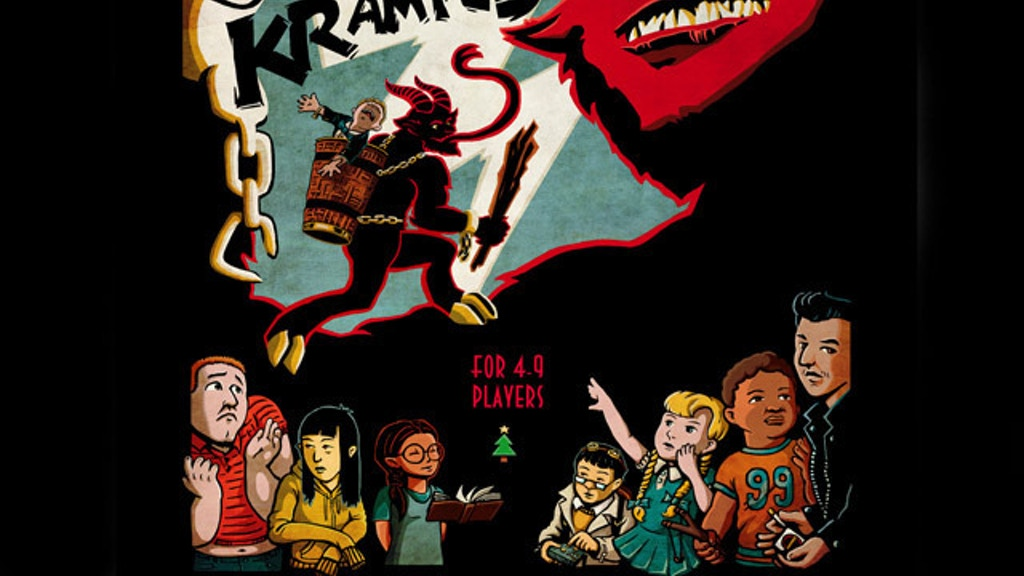 Let's Kill Krampus: A Dark Comedy, Card Game RPG project video thumbnail