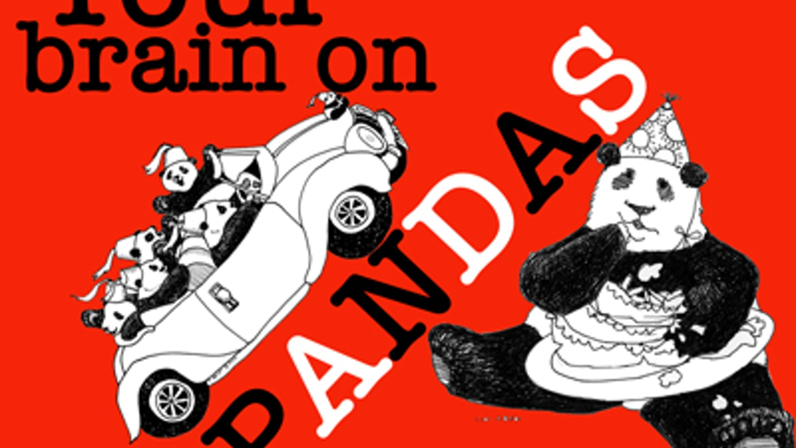 Panda satire is alive and well! Bring Bob T. Panda to the printed page in the first book of a cartoon collection about um...pandas.