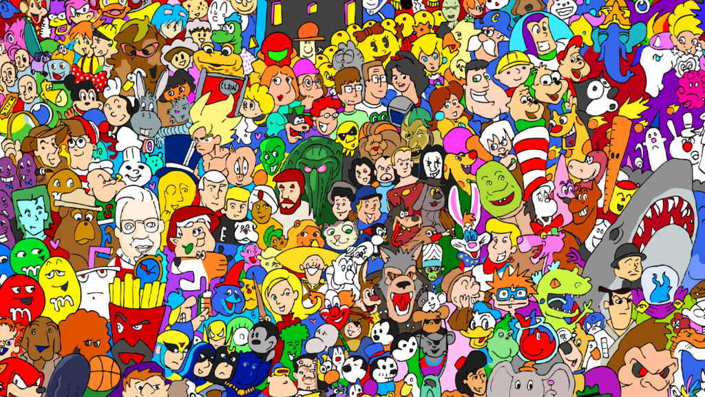 3 Cartoon Characters Always Together : The entire cartoon universe by ray sumser —kickstarter