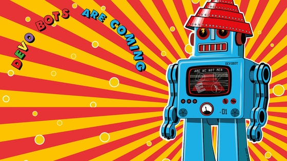 Authorized DEVO Synthesizer and Robot Maker App , DEVOBOTS project video thumbnail