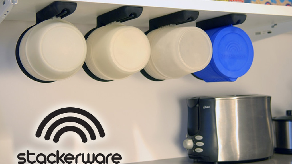 Stackerware: Space Saving, Clutter-Free Food Storage project video thumbnail