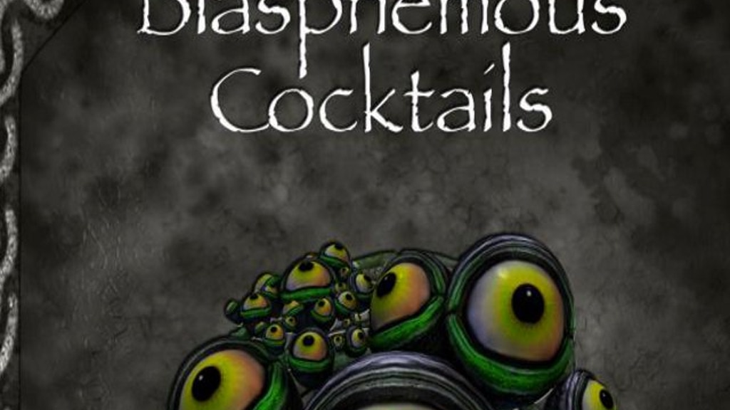 Blasphemous Cocktails project video thumbnail