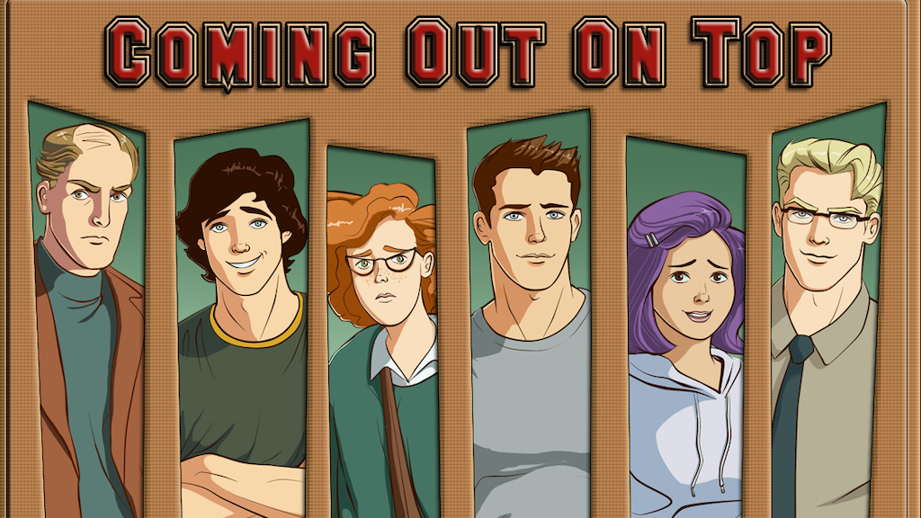 Coming Out On Top - A Gay Dating Sim Video Game project video thumbnail