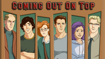 Coming Out On Top - A Gay Dating Sim Video Game