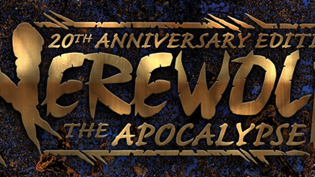 Deluxe Werewolf the Apocalypse 20th Anniversary Edition project video thumbnail