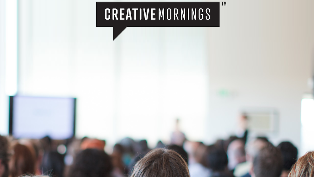 CreativeMornings: Creating an Archive project video thumbnail