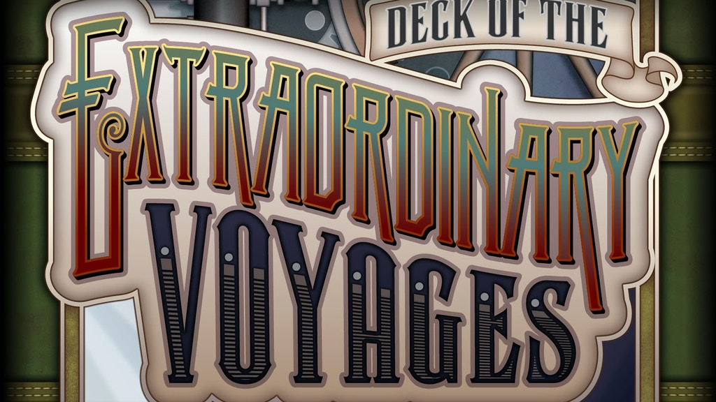 Deck of the Extraordinary Voyages project video thumbnail