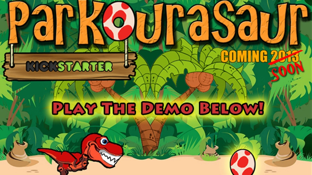Parkourasaur! Free-Running Dinosaur Themed Mobile Game! project video thumbnail