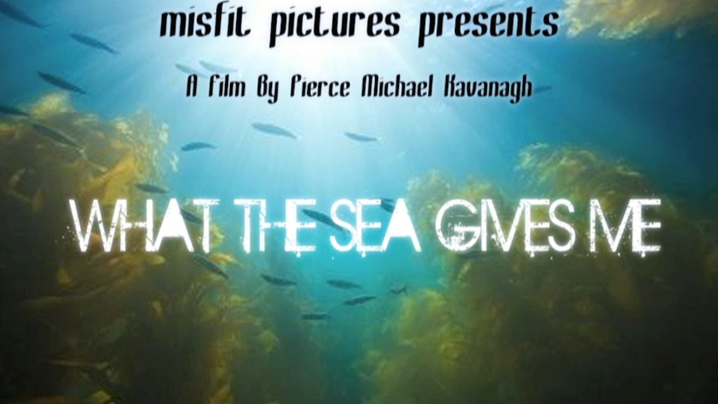 WHAT THE SEA GIVES ME project video thumbnail