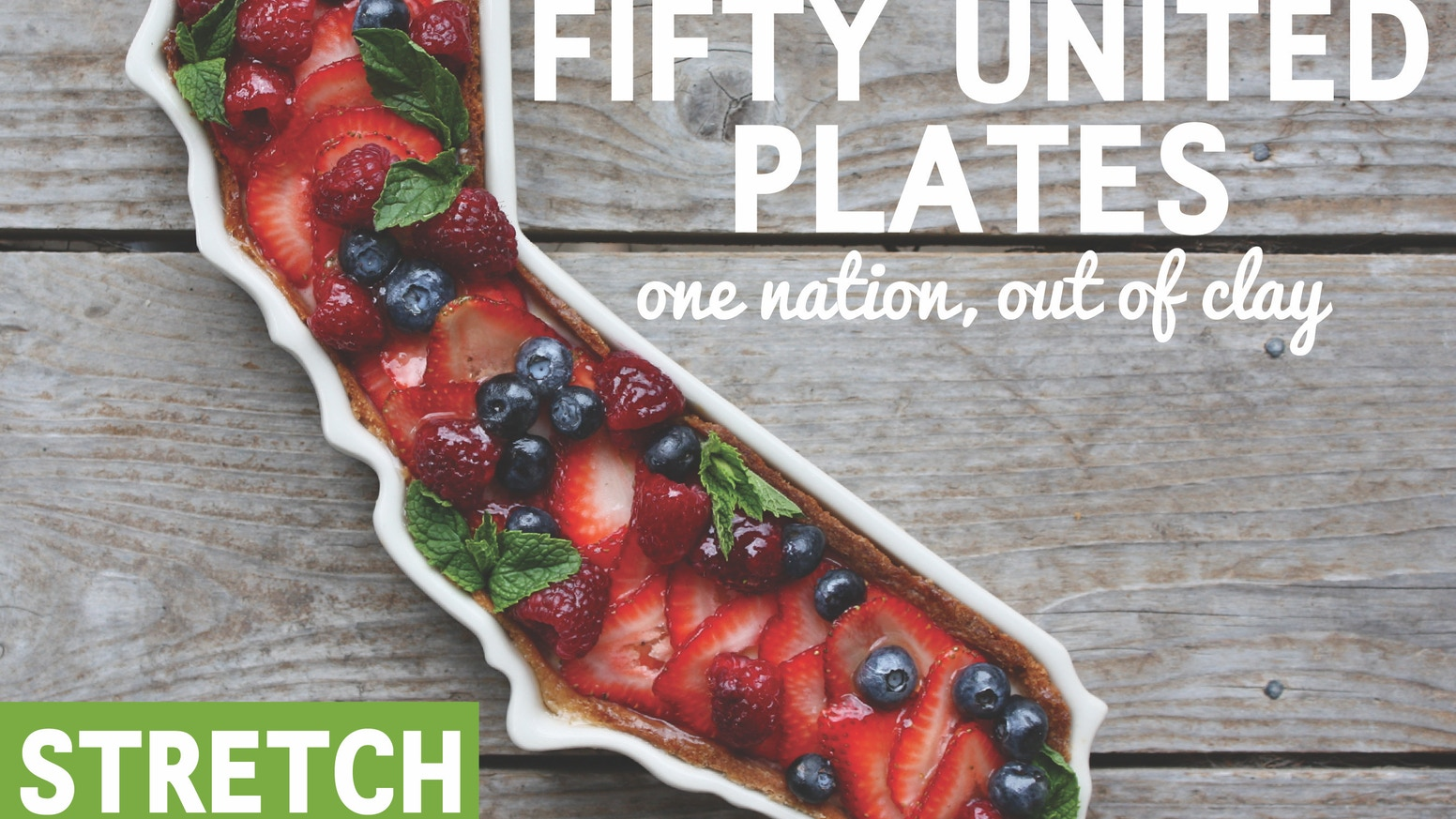 All 50 of the United States re-created in fine porcelain as interlocking trays. Bake, serve and style with pride.
