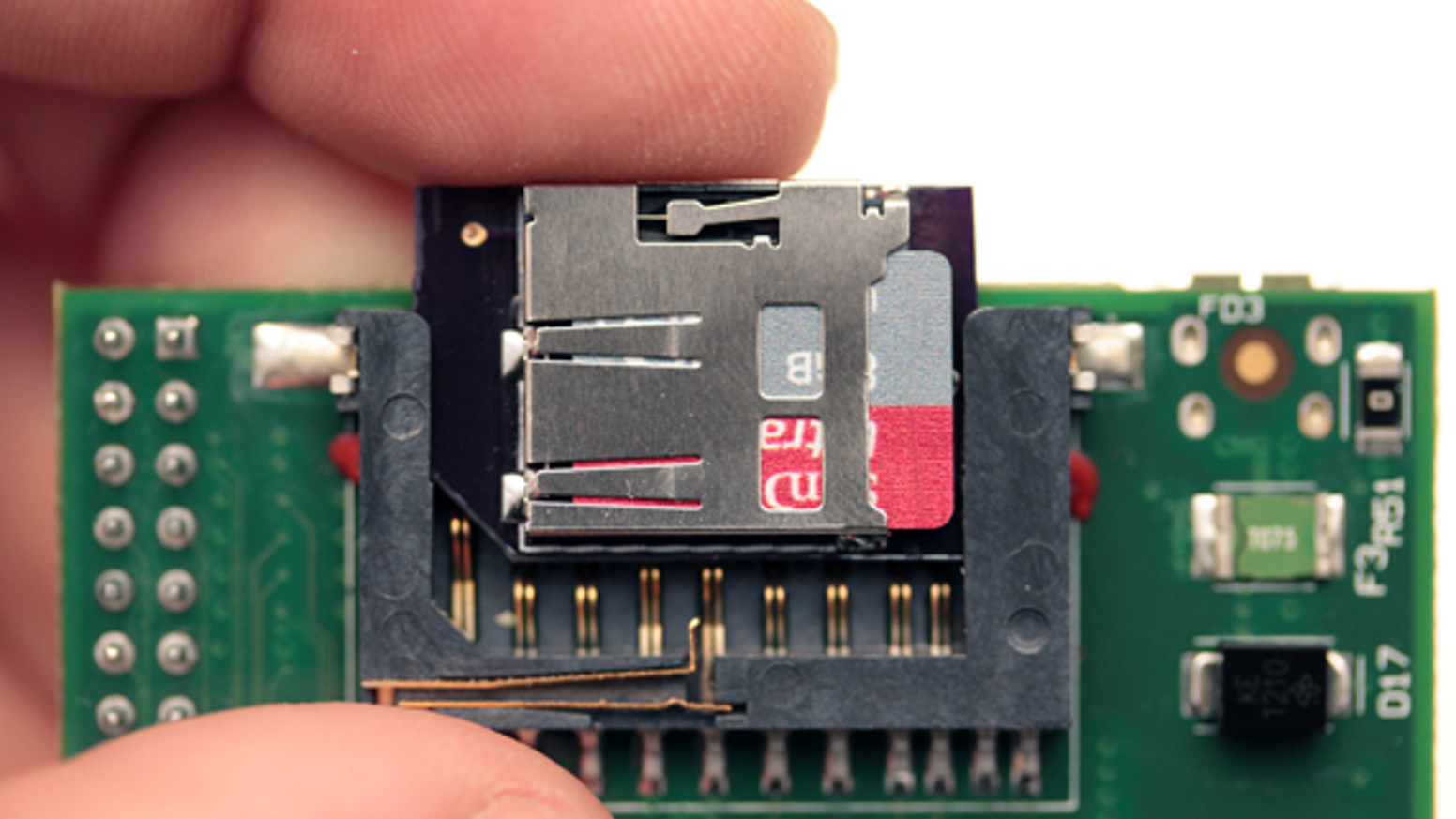 pIO - microSD Adapter for Raspberry Pi by rwinscot » Reward