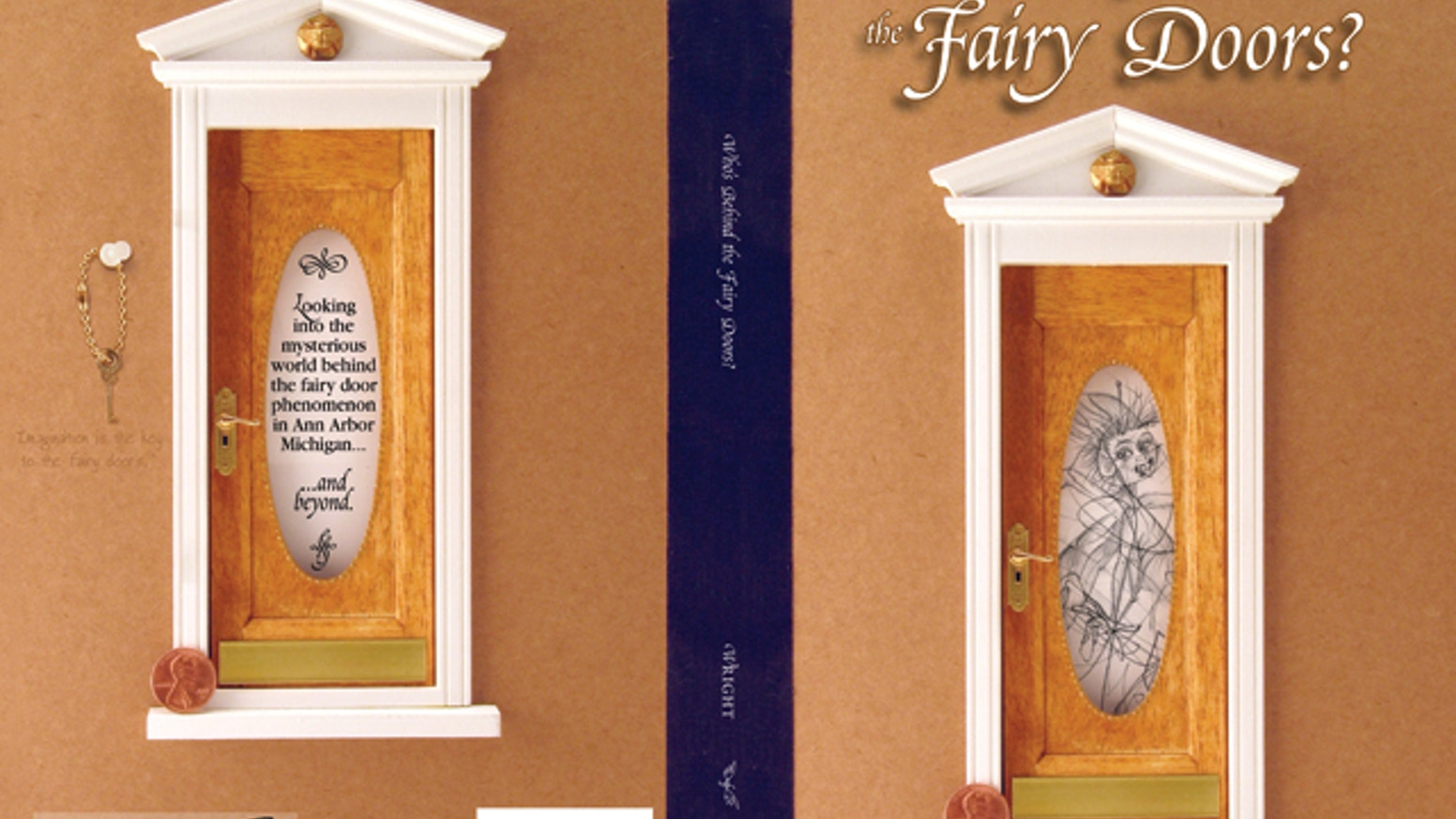 Quot Who S Behind The Fairy Doors Quot Revised Edition By