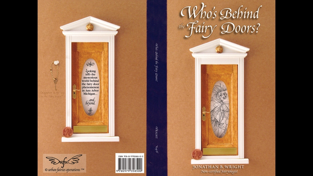 Who 39 s behind the fairy doors revised edition by for Original fairy door
