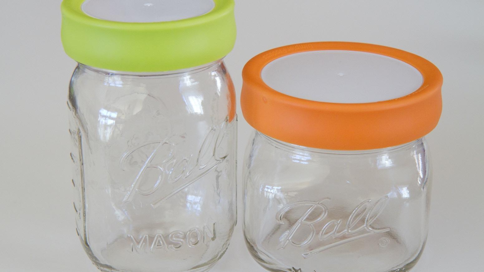 Tulid Reusable Mason Jar Lid By Simpler Products Kickstarter