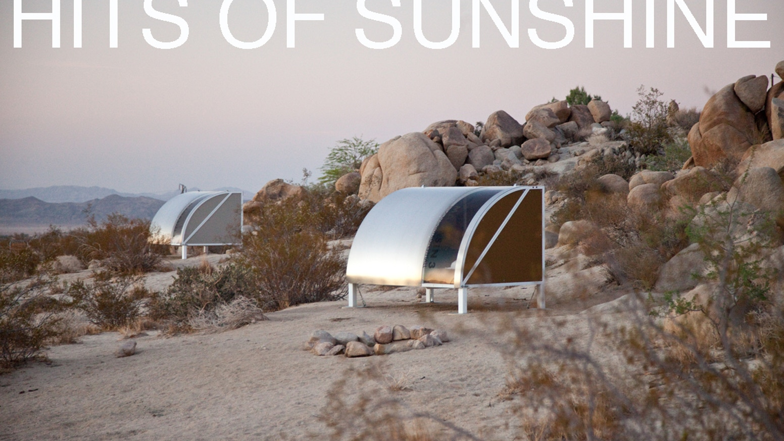 HITS OF SUNSHINE: sound + design + performance in the ...