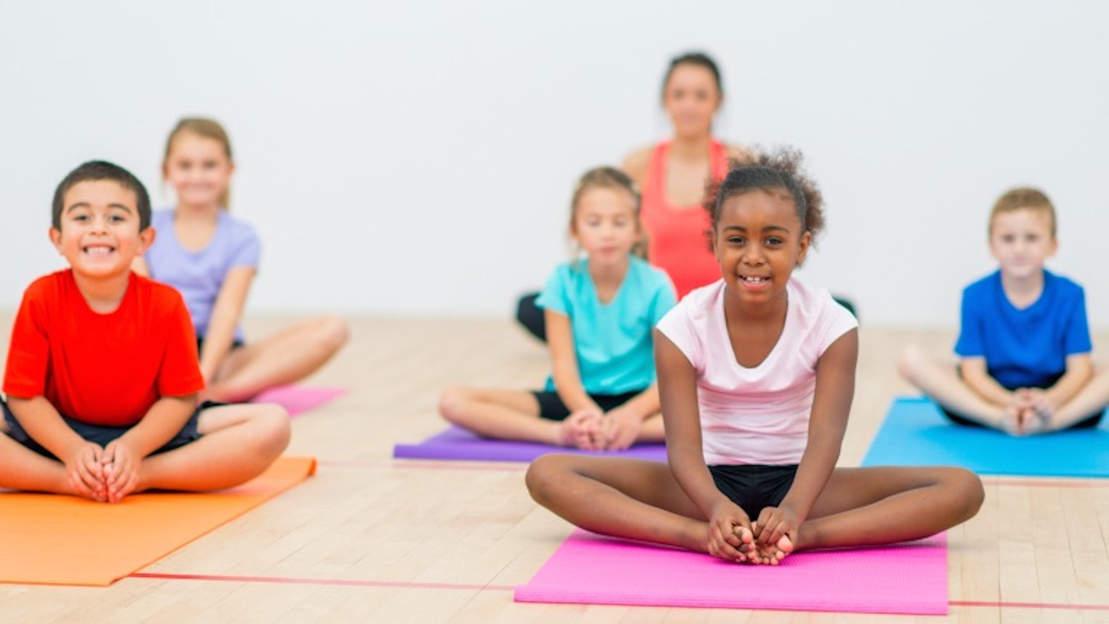 This program offers mindfulness lessons and yoga to children and teens: building compassion, focus, and emotional regulation