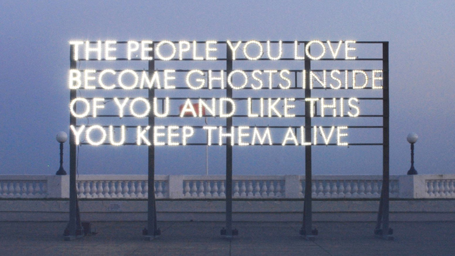 Robert Montgomery: Echoes of Voices in the High Towers by