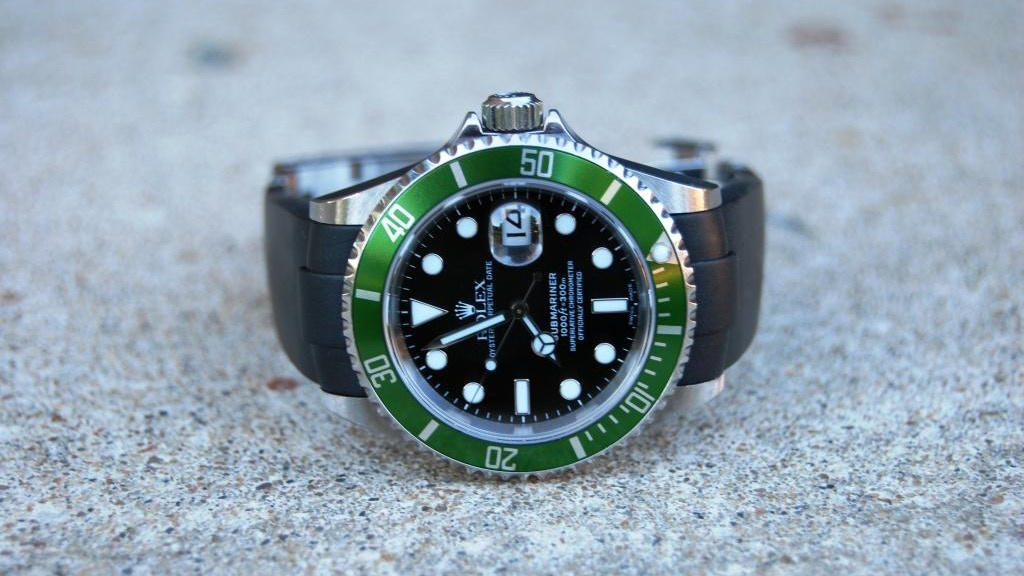 The Rolex Rubber watch band solution - The Everest Band project video thumbnail