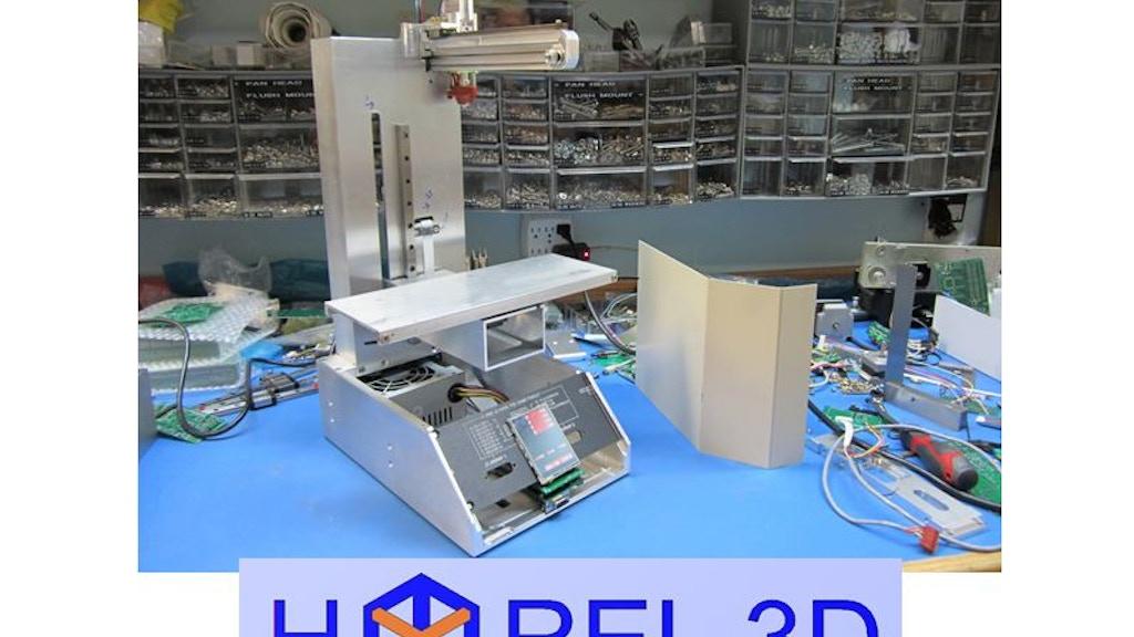 HYREL 3D Printer project video thumbnail