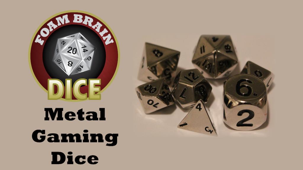 Foam Brain Dice: Metals project video thumbnail