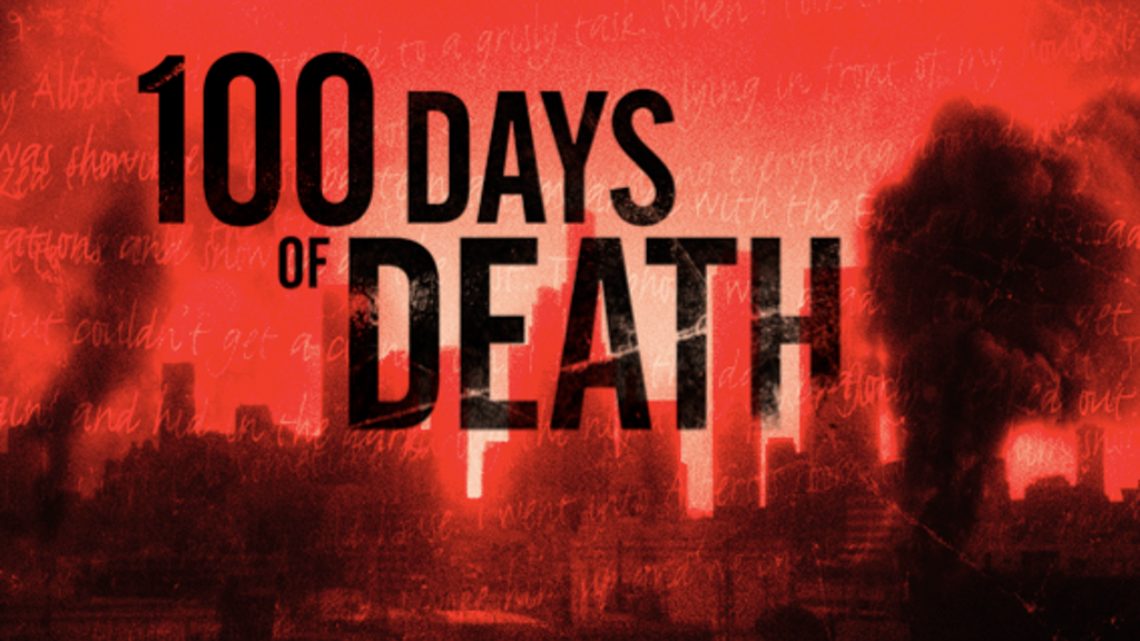 100 Days of Death - The Graphic Novel project video thumbnail