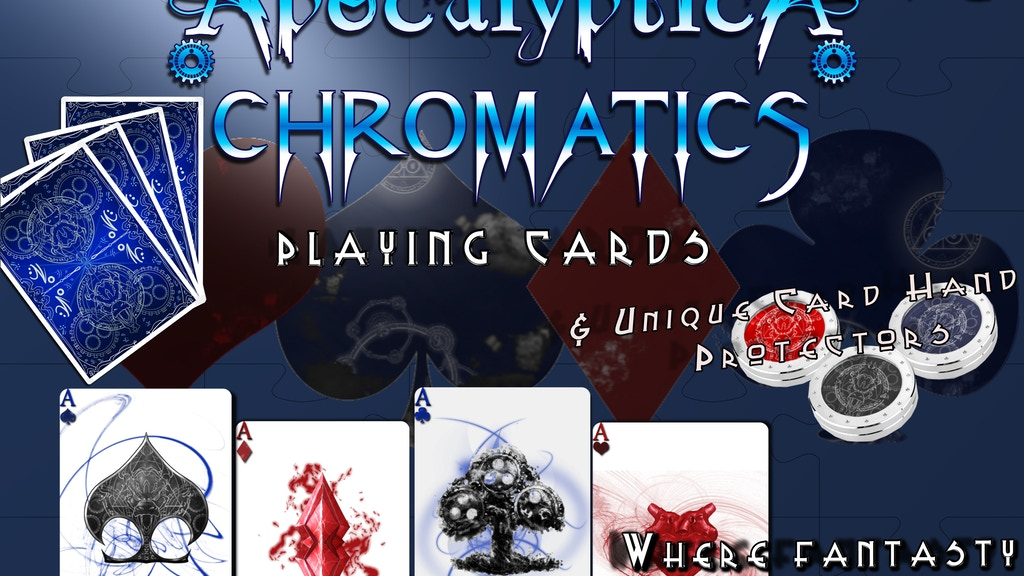 Bicycle® Apocalyptica Playing Cards Deck- The World Ends project video thumbnail