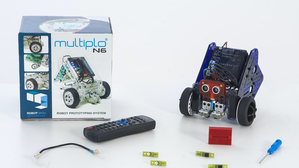 Multiplo: Create Your Own Robot project video thumbnail