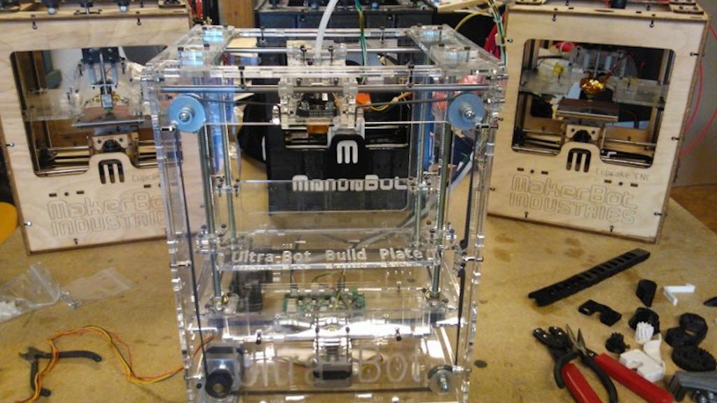 Ultra-Bot 3D Printer project video thumbnail
