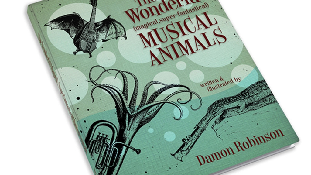 The Wonderful Musical Animals Book and Prints project video thumbnail
