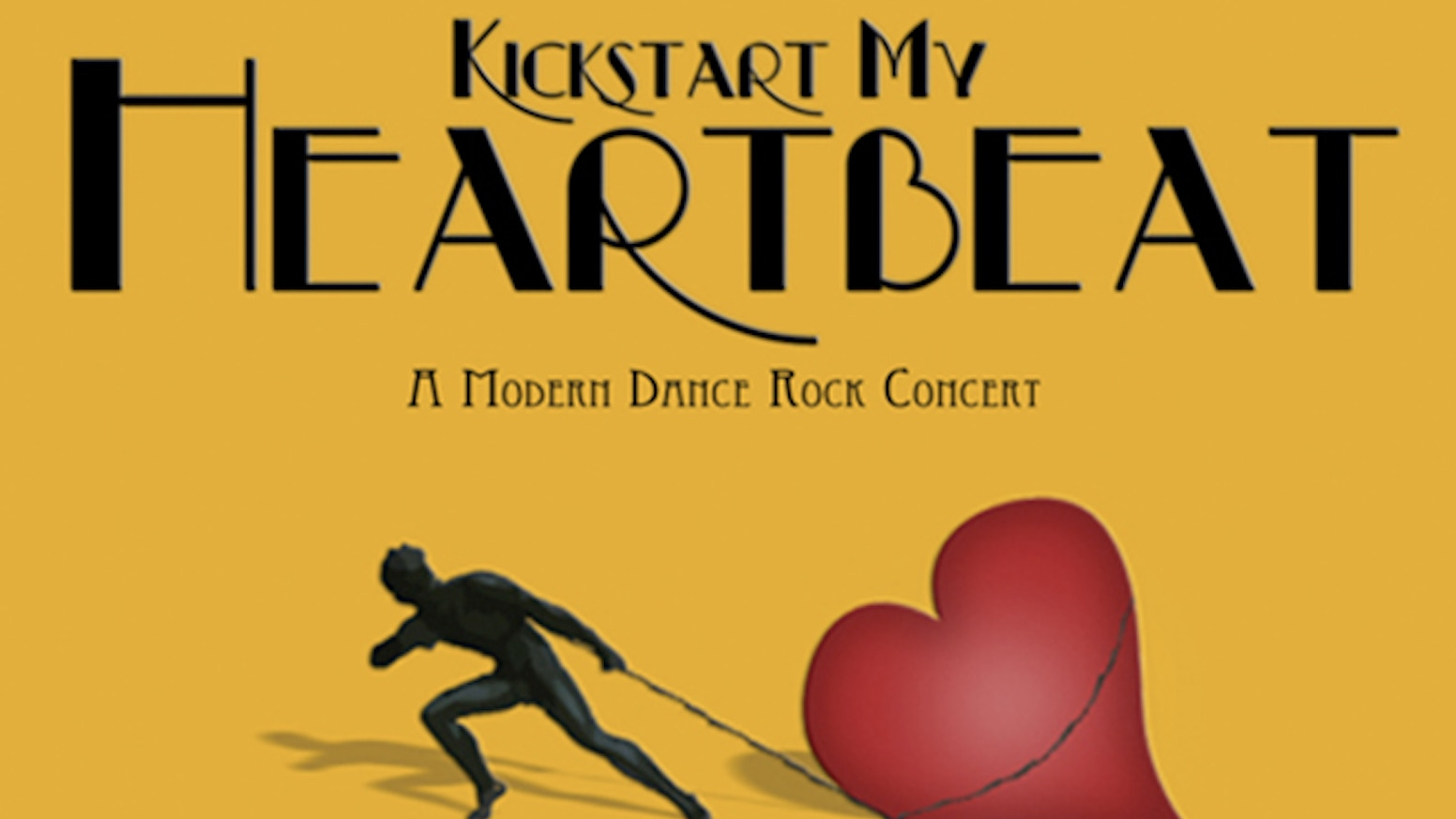 Heartbeat - Modern Dance Rock Concert by George Woods — Kickstarter