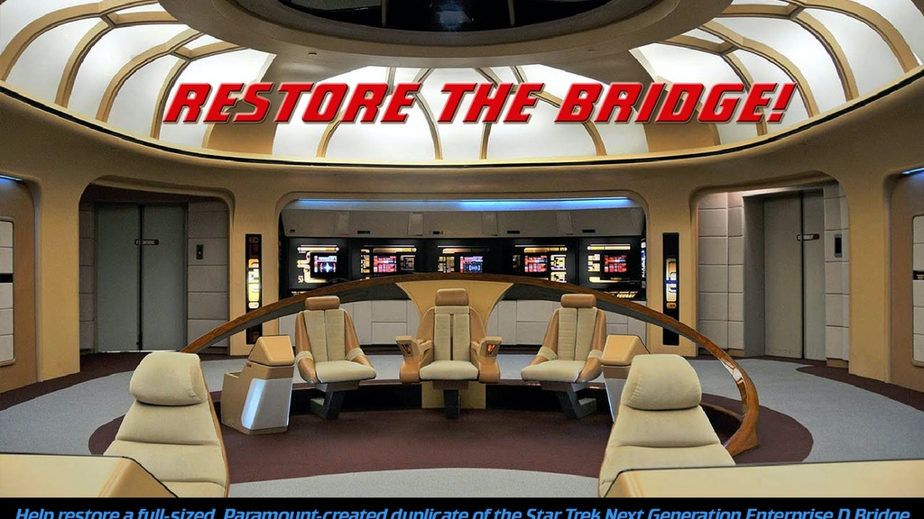 Star Trek Enterprise BRIDGE INTERACTIVE MUSEUM project video thumbnail
